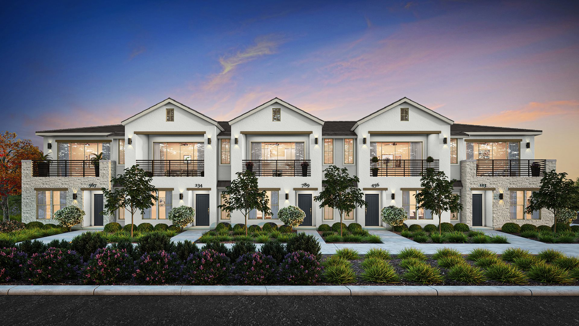 Veneto Park - Starling Townhomes Oriole - Plan 1002 A