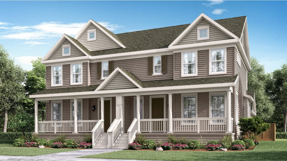 Compass Paired Homes Colonial