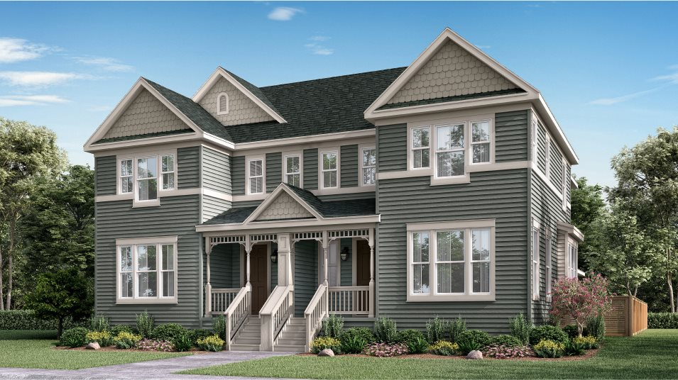 Compass Paired Homes Vibrant- Right Colonial