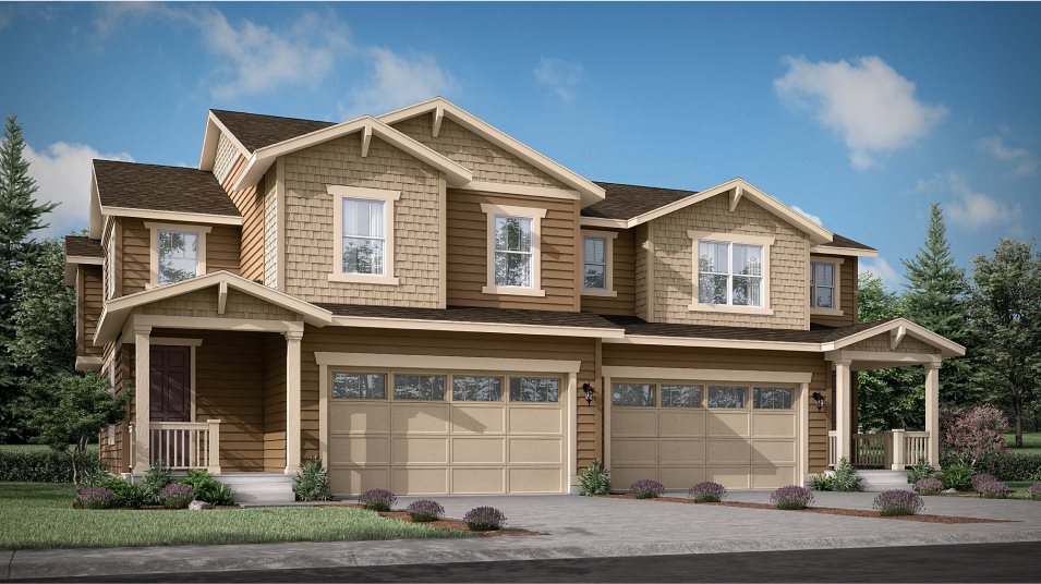 Buffalo Highlands Paired Homes Meridian Exterior A