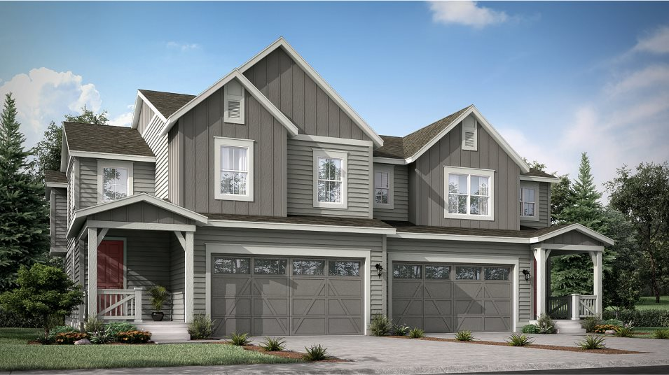 Buffalo Highlands Paired Homes Meridian Exterior B