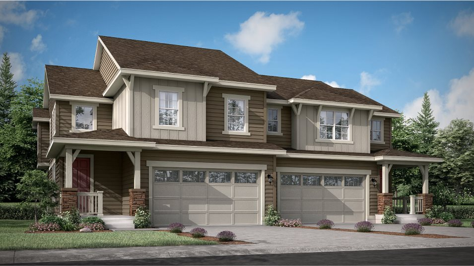 Buffalo Highlands Paired Homes Meridian Exterior C