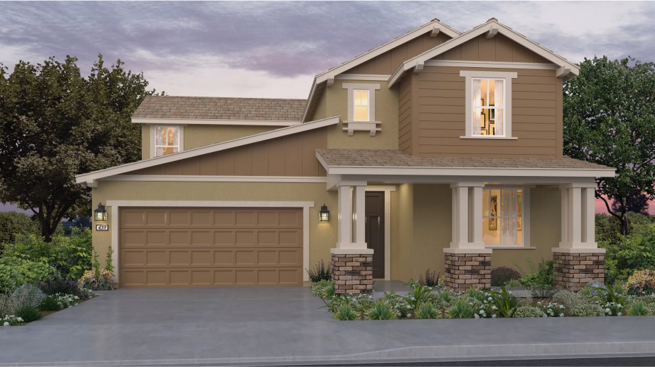 Menifee Town Center Union Place Residence Three Exterior A