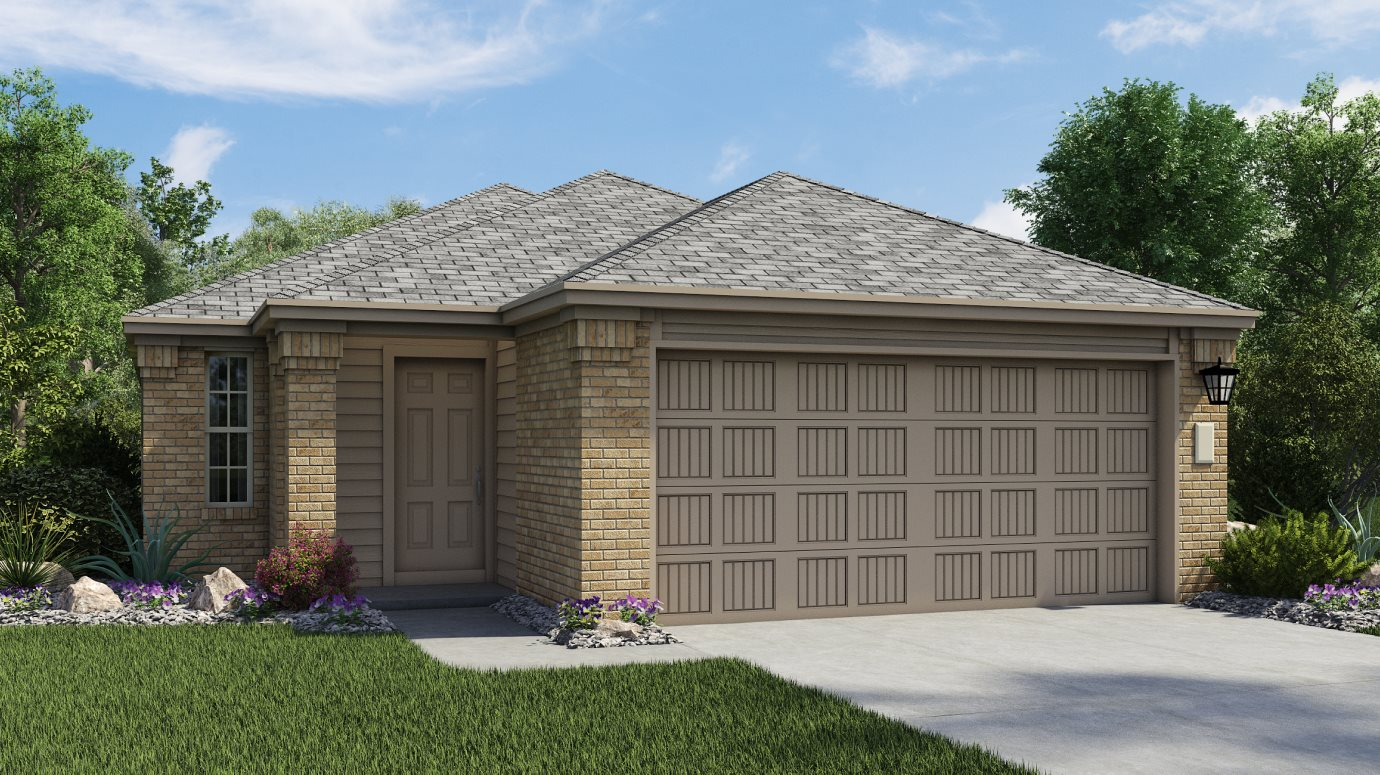 Lakeside at Tessera Ridgepointe Collection Oberlin Elevation