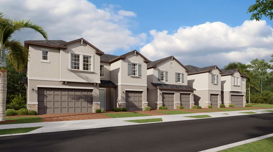 Epperson The Townhomes Constitution Exterior A