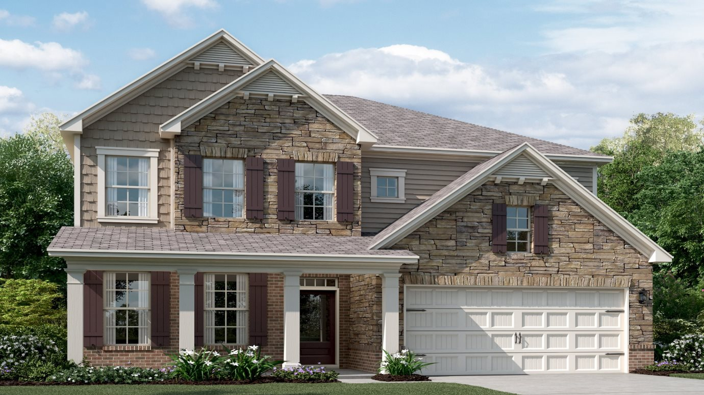 Dartmoor at Mountain Crest Madison with Basement Exterior C