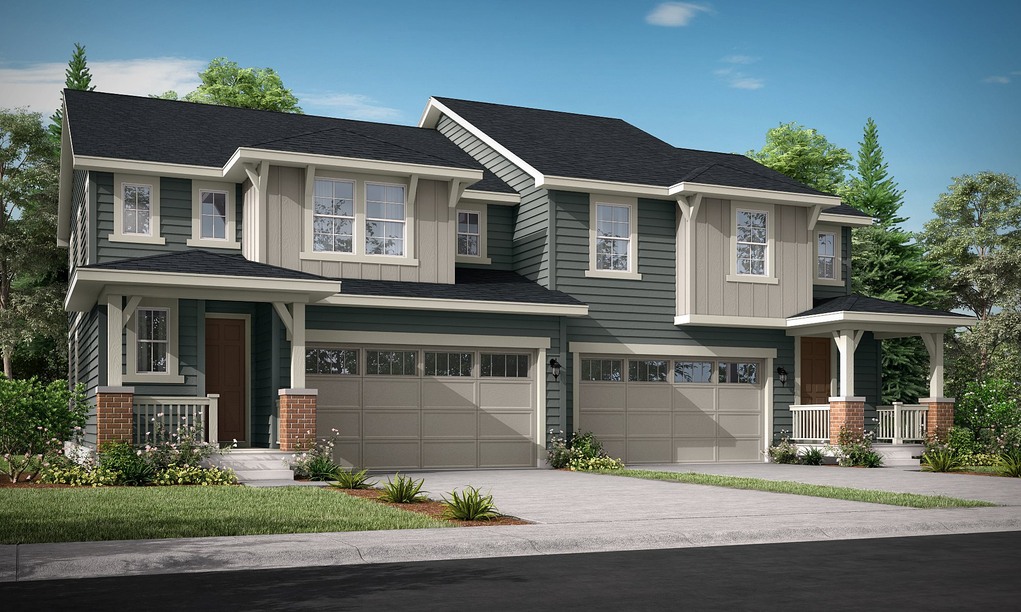Palisade-Park-West Paired Homes Ascent C