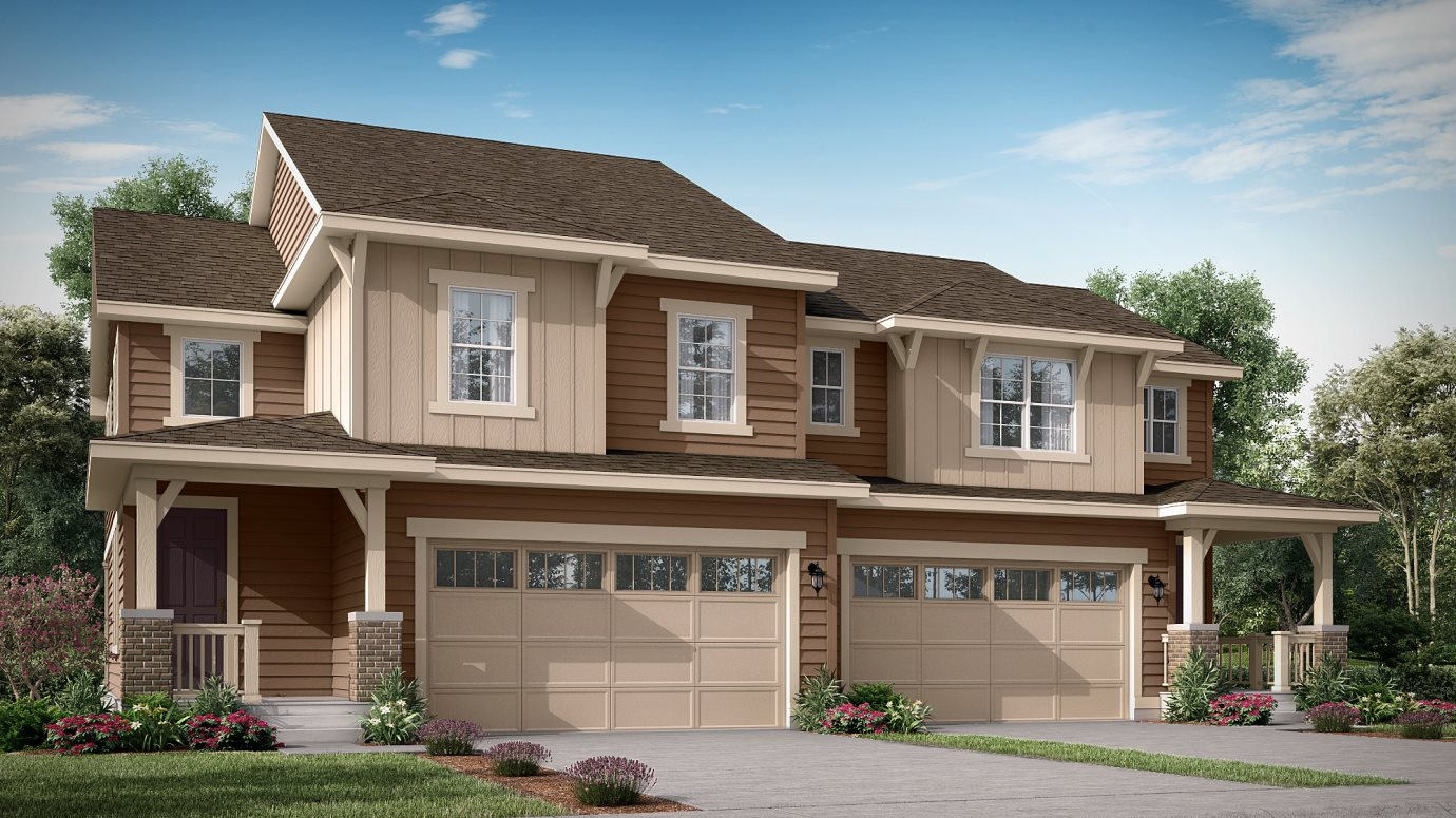 Palisade Park West Paired Homes Meridian Exterior High Country