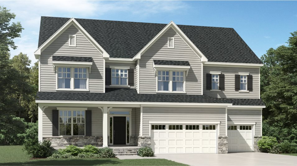 The Mills at Avent Ferry Barrington III Exterior A
