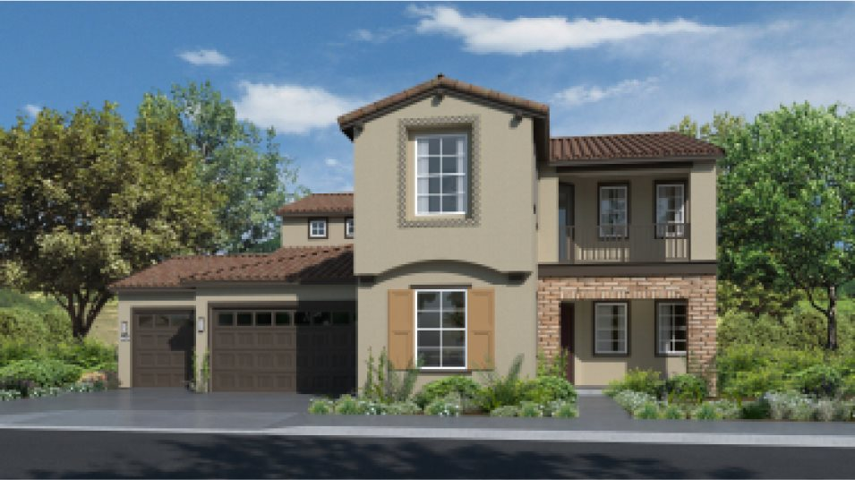 Emerald Peaks at Bass Lake Hills Residence 3279 Exterior E