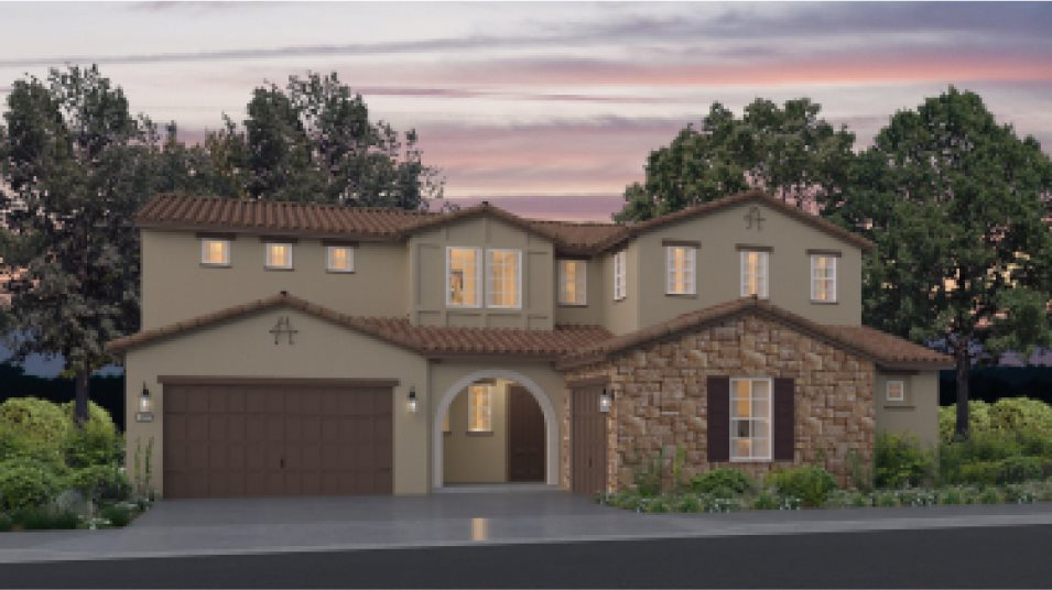 Emerald Peaks at Bass Lake Hills Residence 3762 Exterior D