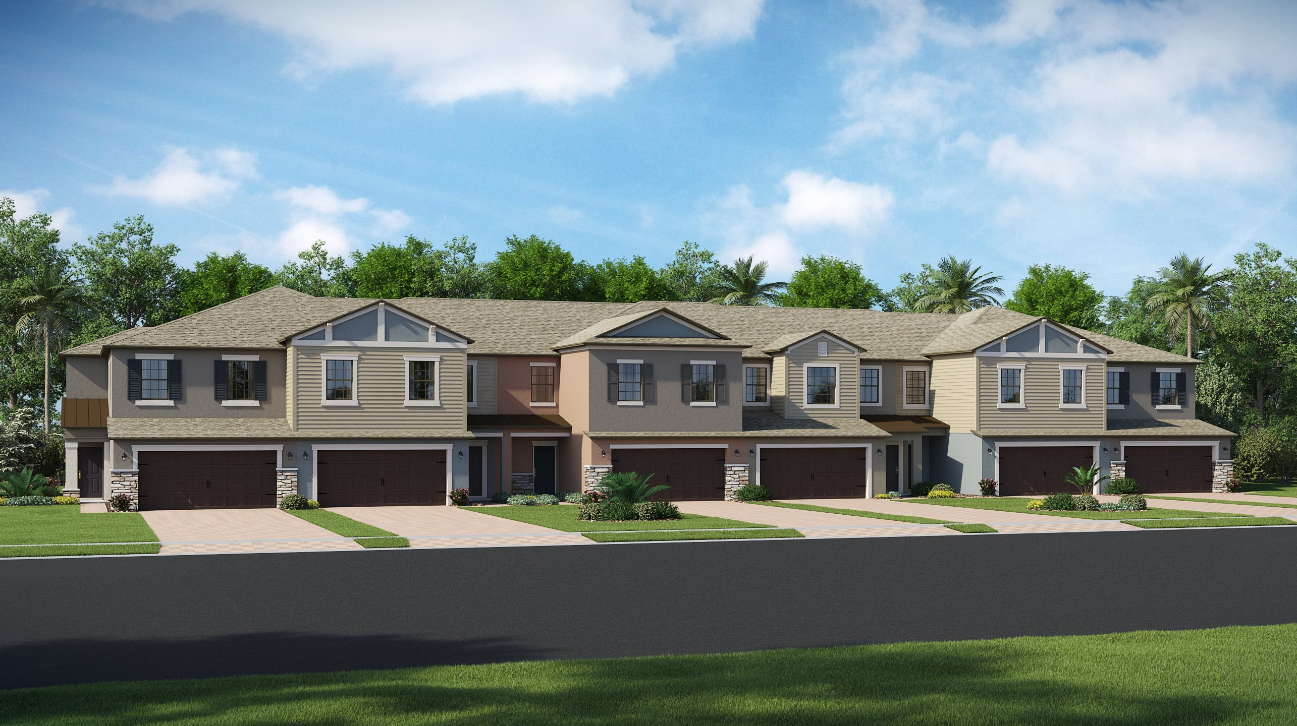 Willow - Townhomes - Verona Exterior A