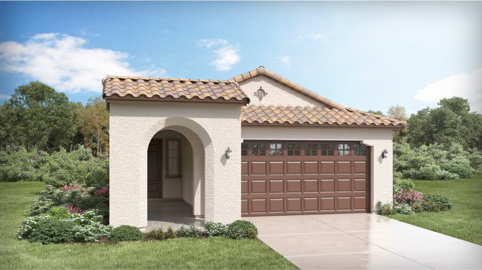 Western Enclave Crest 3074 Orchid Spanish Colonial