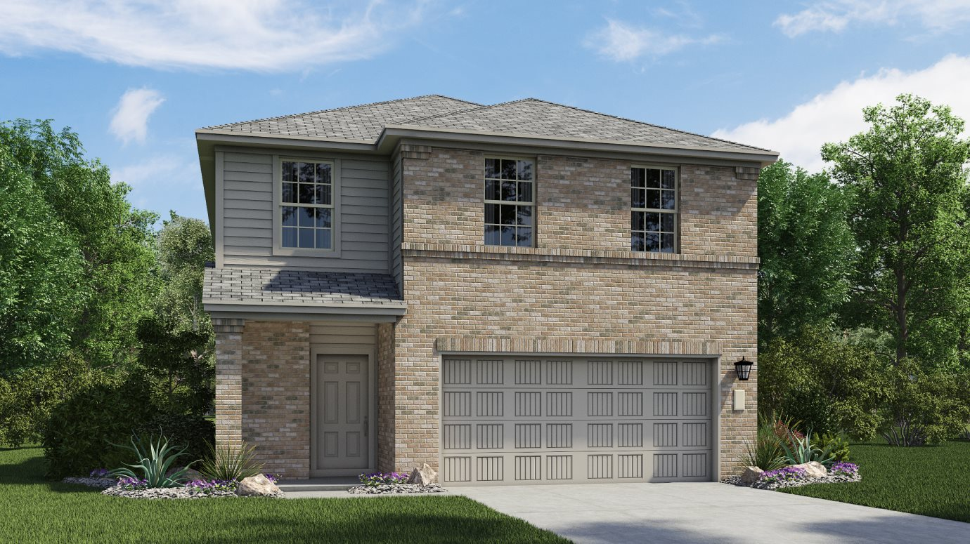 Lakeside at Tessera Ridgepointe Collection Windyhill Elevation