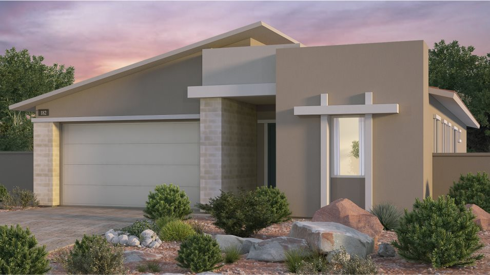 Stirling Sawyer Exterior Style Desert Contemporary