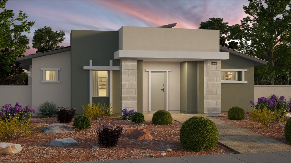 Cromwell Claremont Exterior Style Desert Contemporary