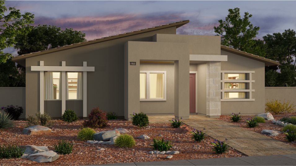 Cromwell Connery Exterior Style Desert Contemporary
