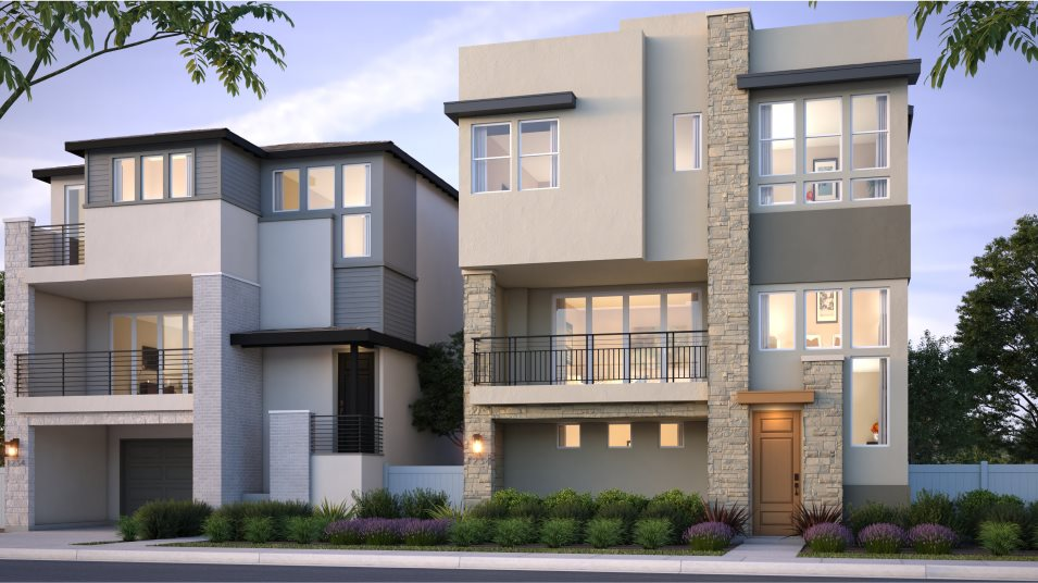 3 Roots: Citrine Residence 2X Contemporary - B