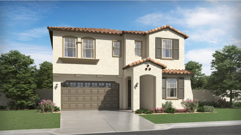 Spanish Colonial Exterior for Plan 3526