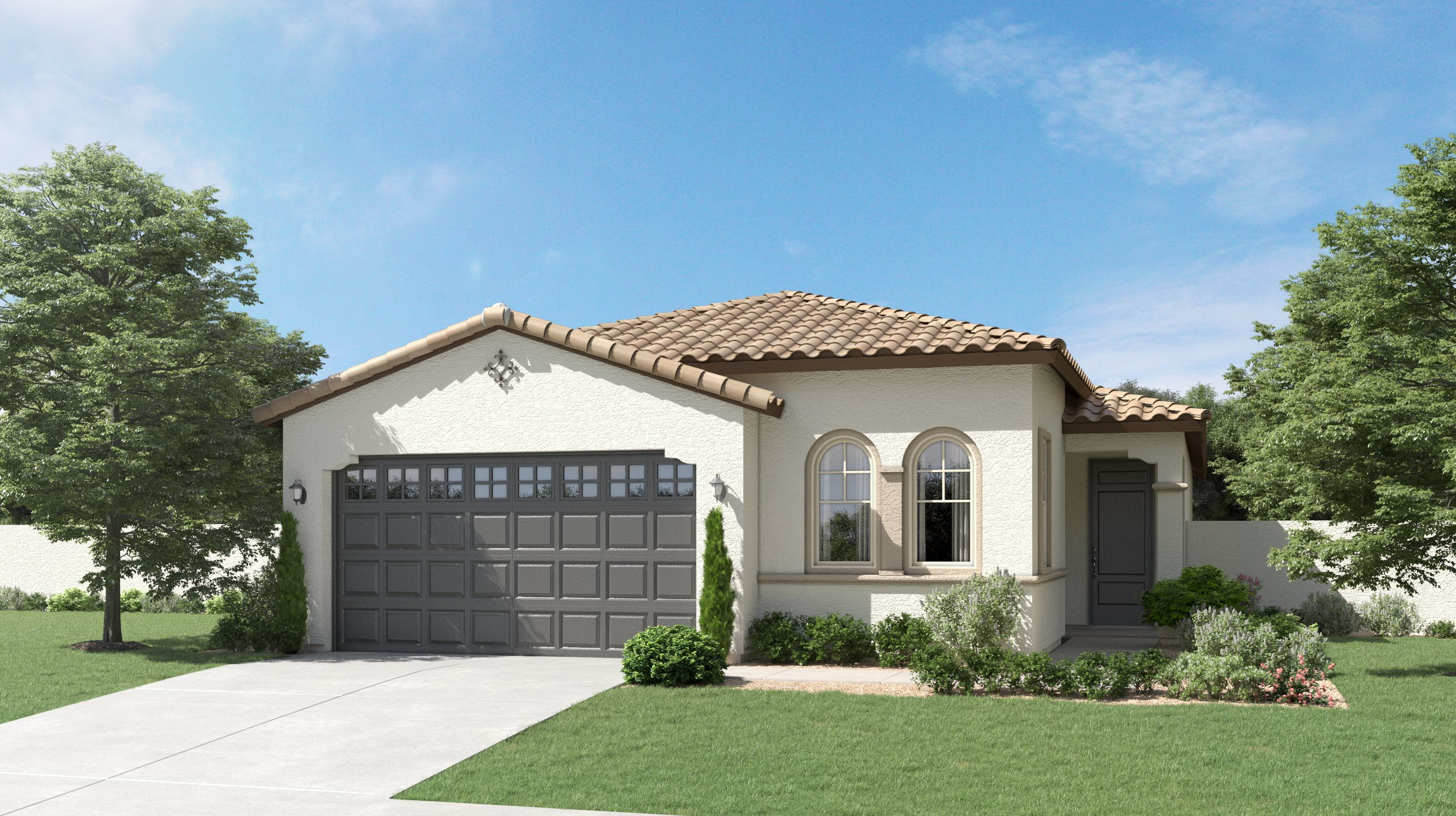 Spanish Colonial Exterior for Plan 3570