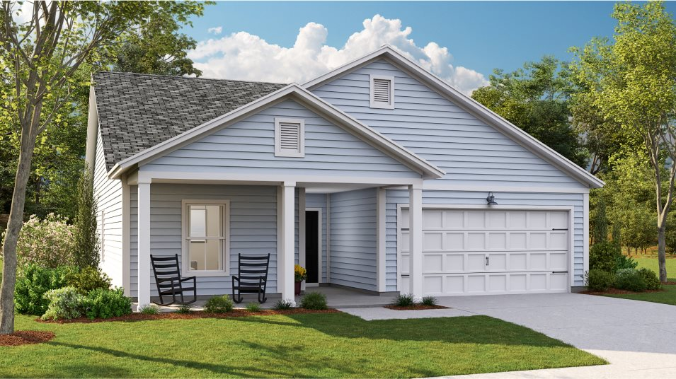 Waterside at Lakes of Cane Bay Arbor Collection BELHAVEN II Exterior N6