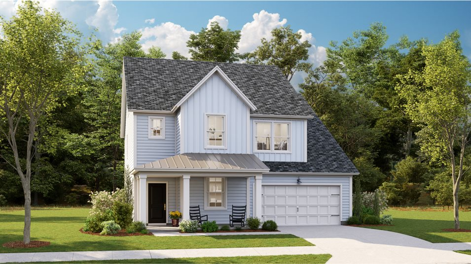 Waterside at Lakes of Cane Bay Arbor Collection Fulton Exterior N6