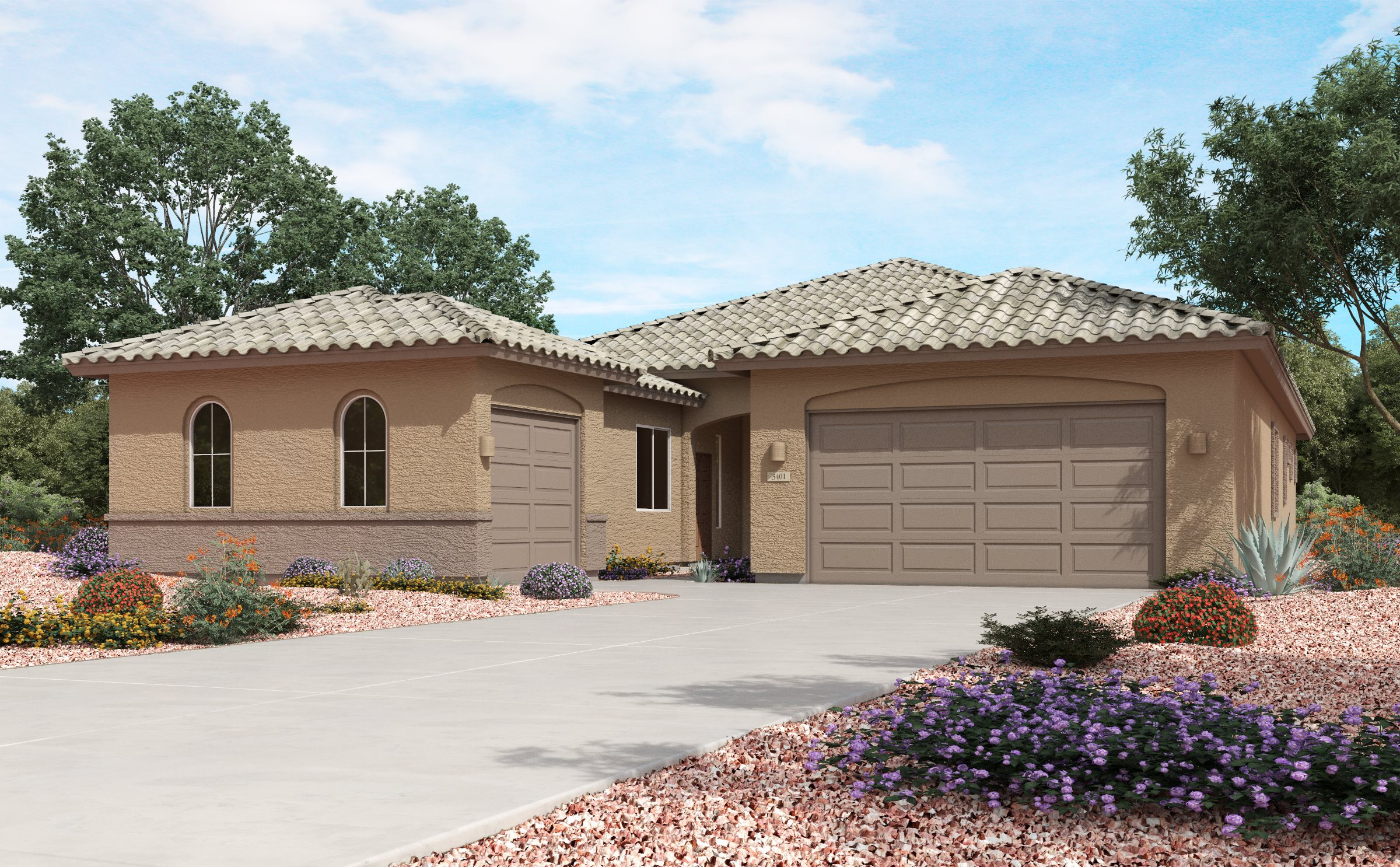 Heartland at Gladden Farms Oracle Elevation A