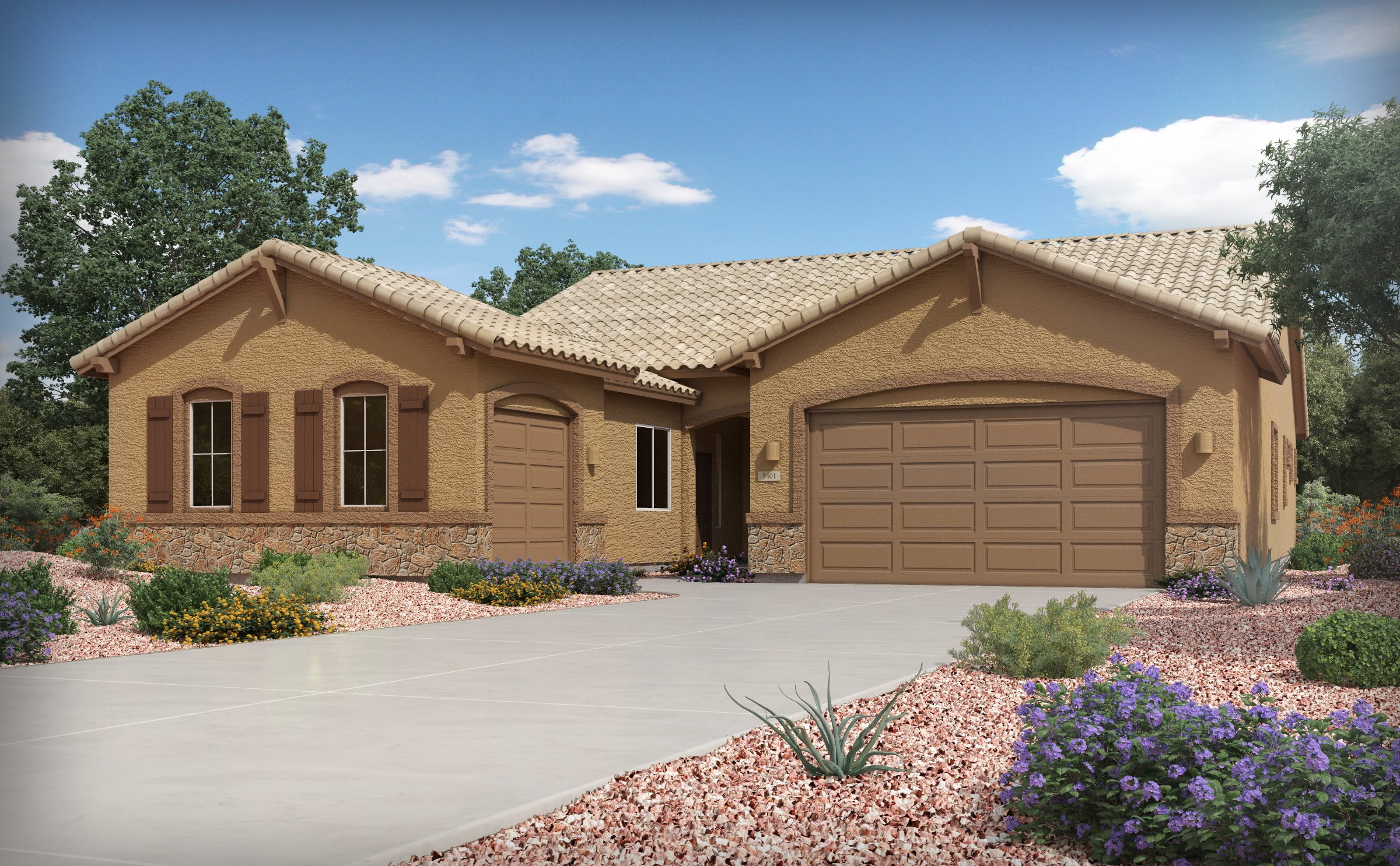 Heartland at Gladden Farms Oracle Elevation C